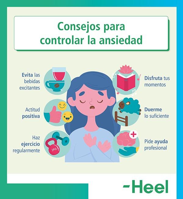Consigue controlar el estrés y ansiedad