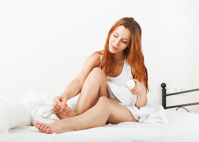 Tratamiento: gel efecto frío para la circulación