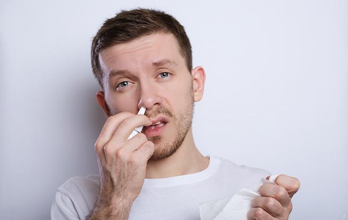 Alviar la sinusitis y poder respirar