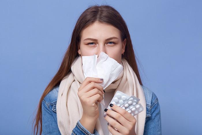 Alivio de la congestión nasal