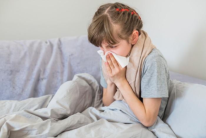 Cómo aliviar la congestión nasal en niños