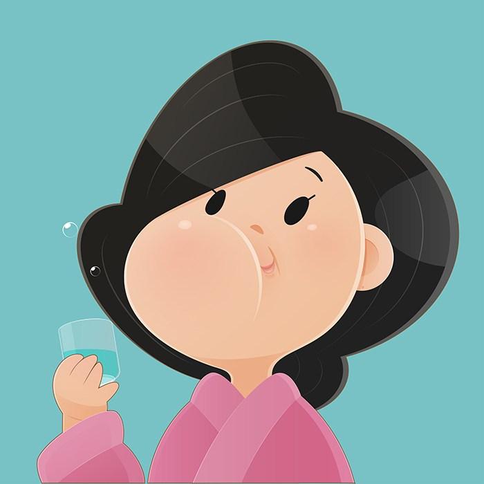 ¿Es un buen remedio hacer gárgaras para la garganta irritada?