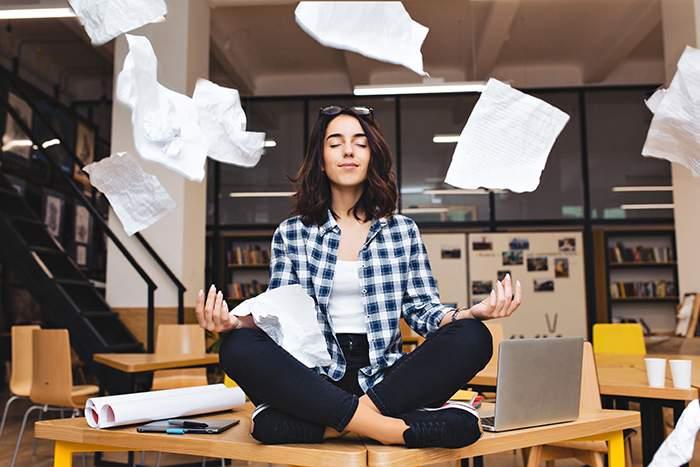 Positividad: trabajo y estado de ánimo