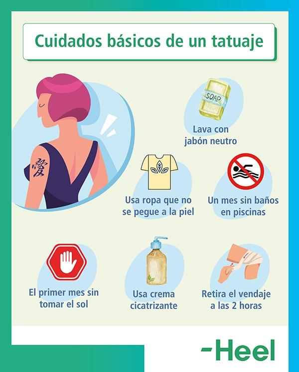 ¿Cómo evitar los efectos de los tatuajes?