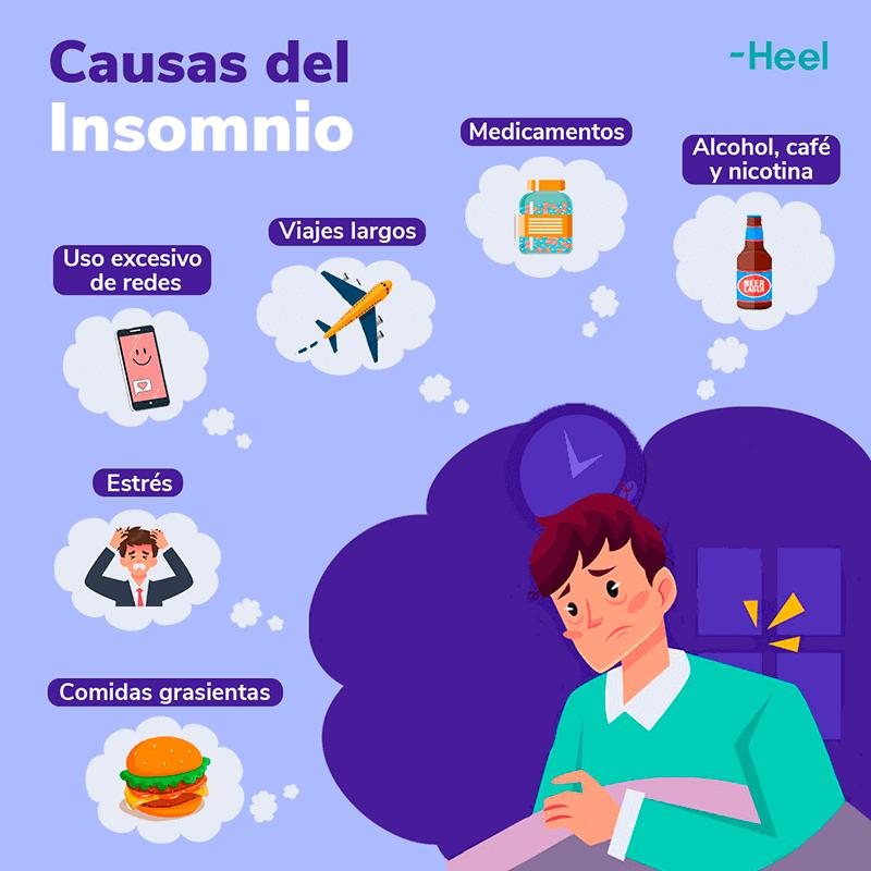 Cuáles son las causas del insomnio