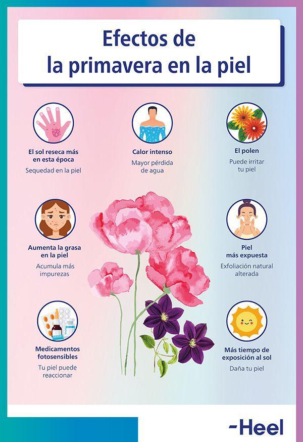 Consejos para cuidar la piel en primavera