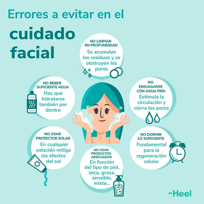 Cuidado facial, qué hacer y qué no