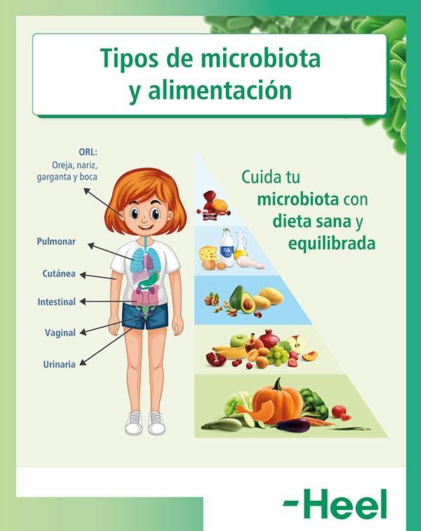 Cuidar la microbiota intestinal a través de la dieta