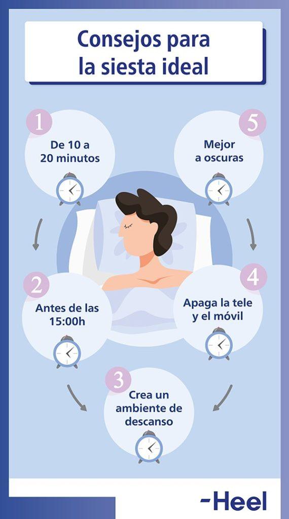Encontrar los beneficios de la siesta