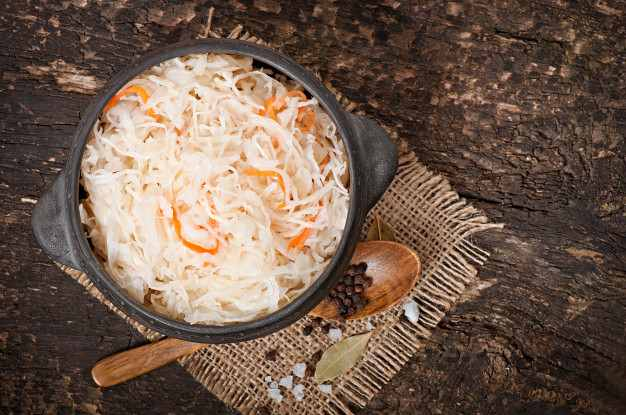 Chucrut, alimentos fermentados