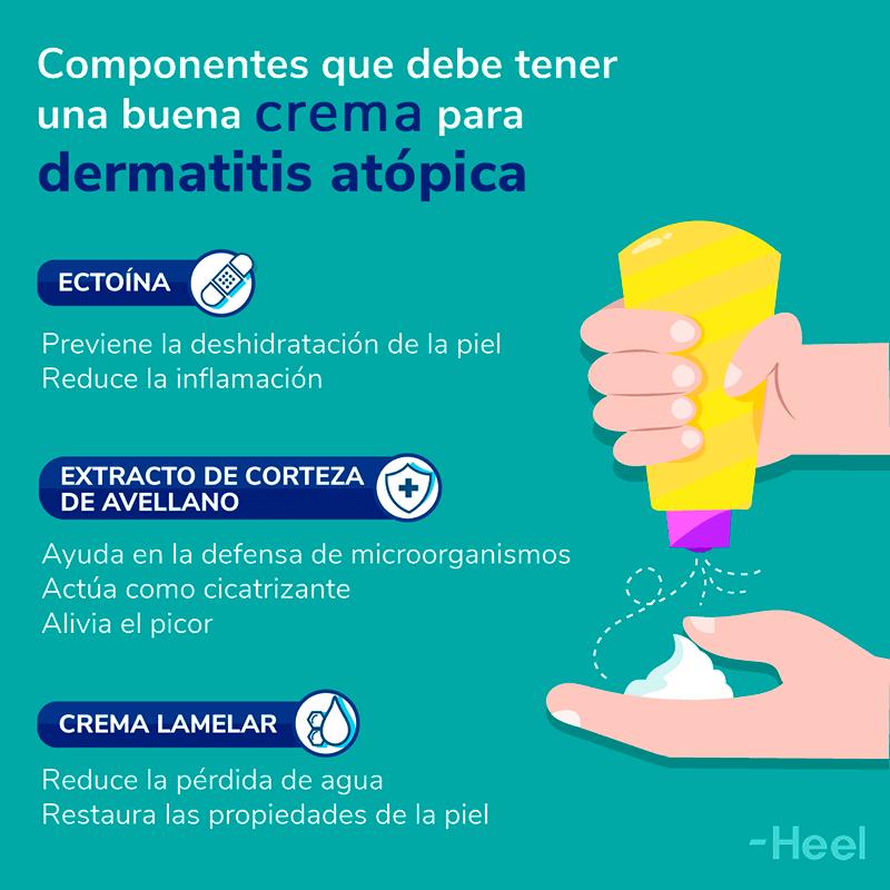 Crema para dermatitis atópica