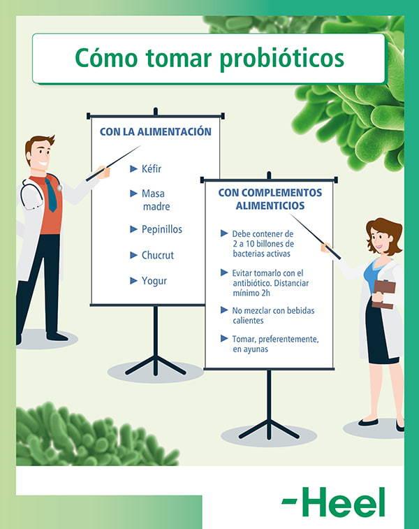 Cuestiones para saber cómo tomar probióticos