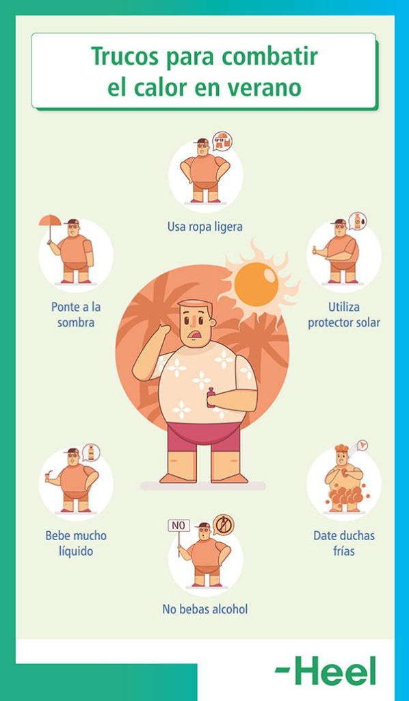 Evita el calor y cuida la dermatitis atópica en verano