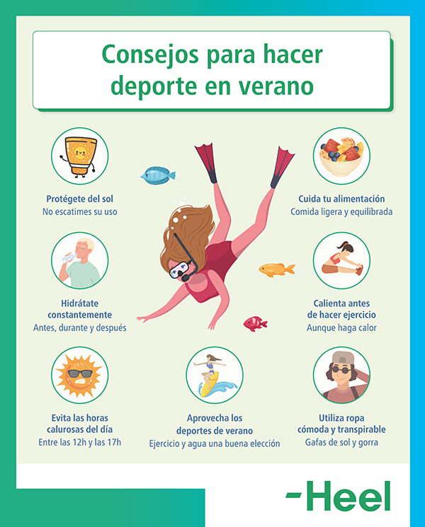 Verano y hábitos saludables