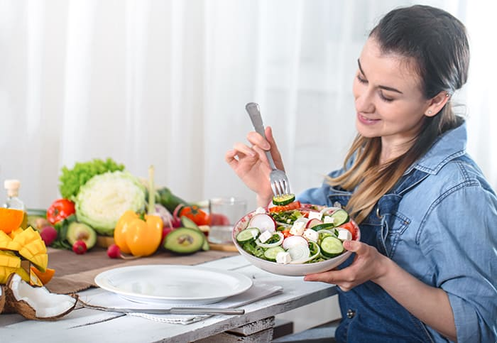 Qué comer con mindful eating