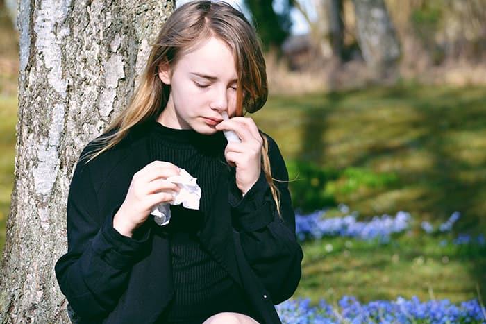 Mejor tratamiento para las reacciones alérgicas en otoño